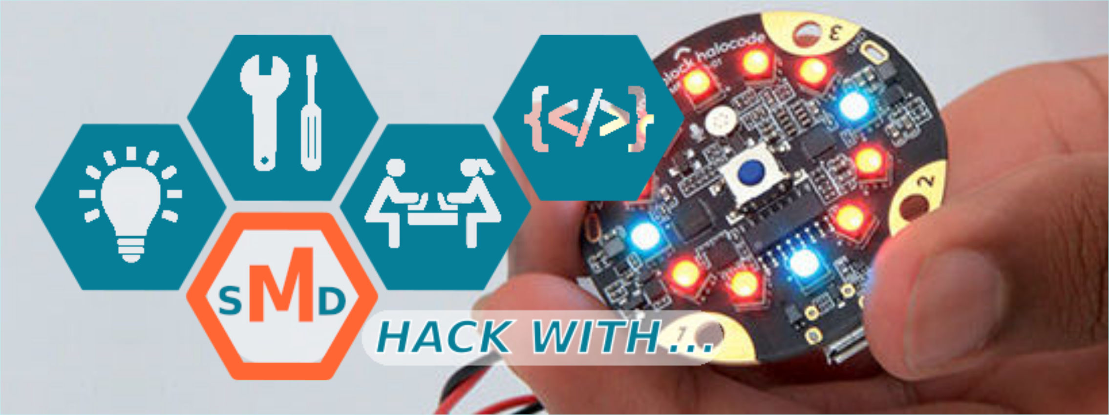 Hack with ... Halocode