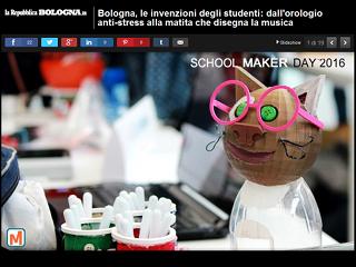 La Repubblica Bologna.it - 2 maggio 2016