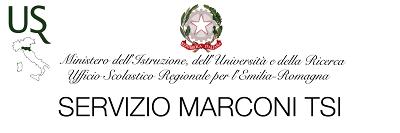 Servizio Marconi TSI USR Emilia Romagna