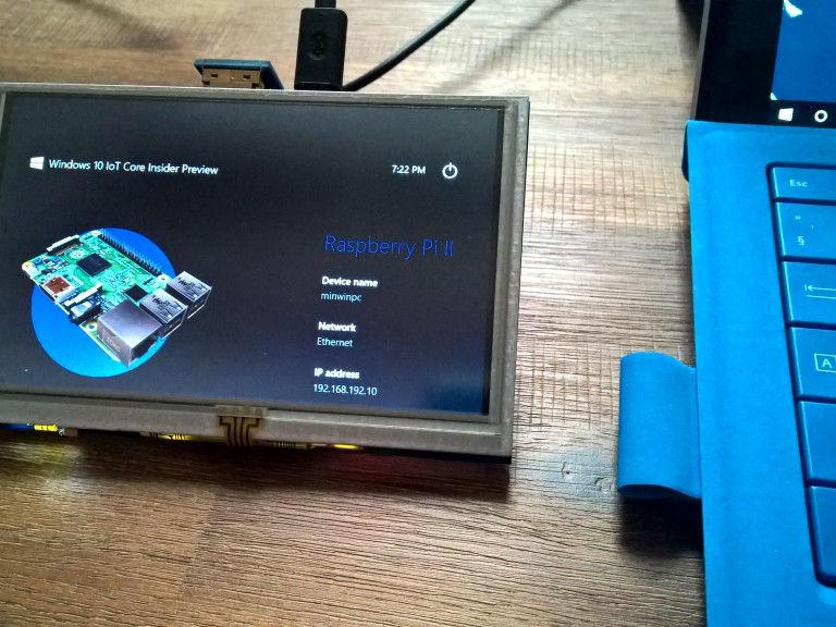 IoT con Windows 10 su Raspberry