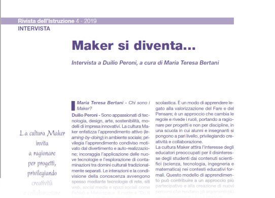 Intervista a Duilio Peroni