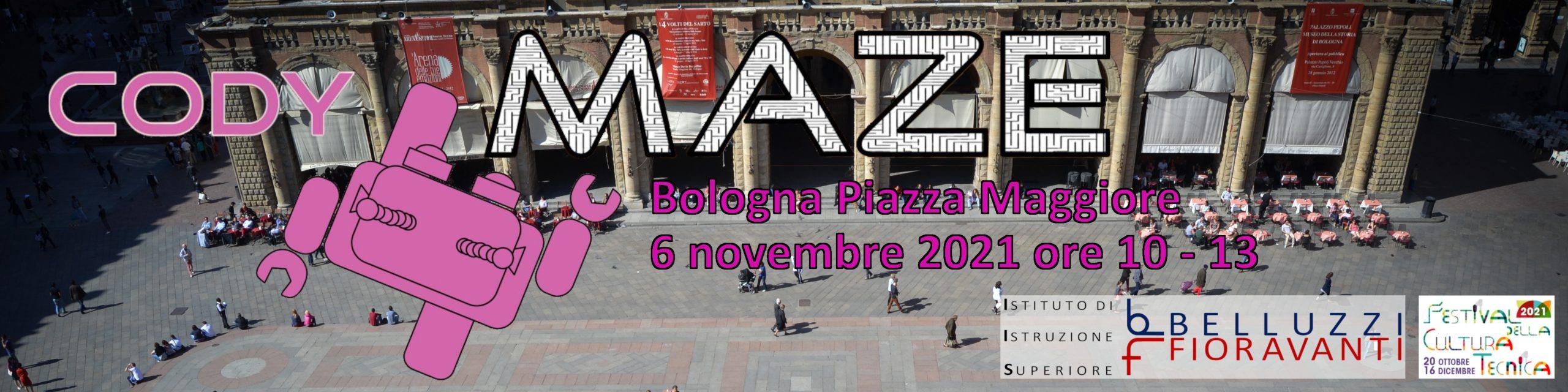 CodyMaze in Piazza Maggiore